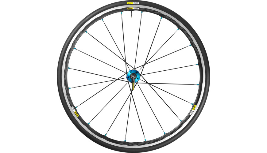 Mavic Ksyrium Elite HR 25 Shimano M10 black/blue